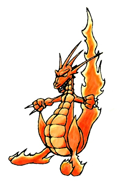 miscellaneous fire dragon picture - photo #12